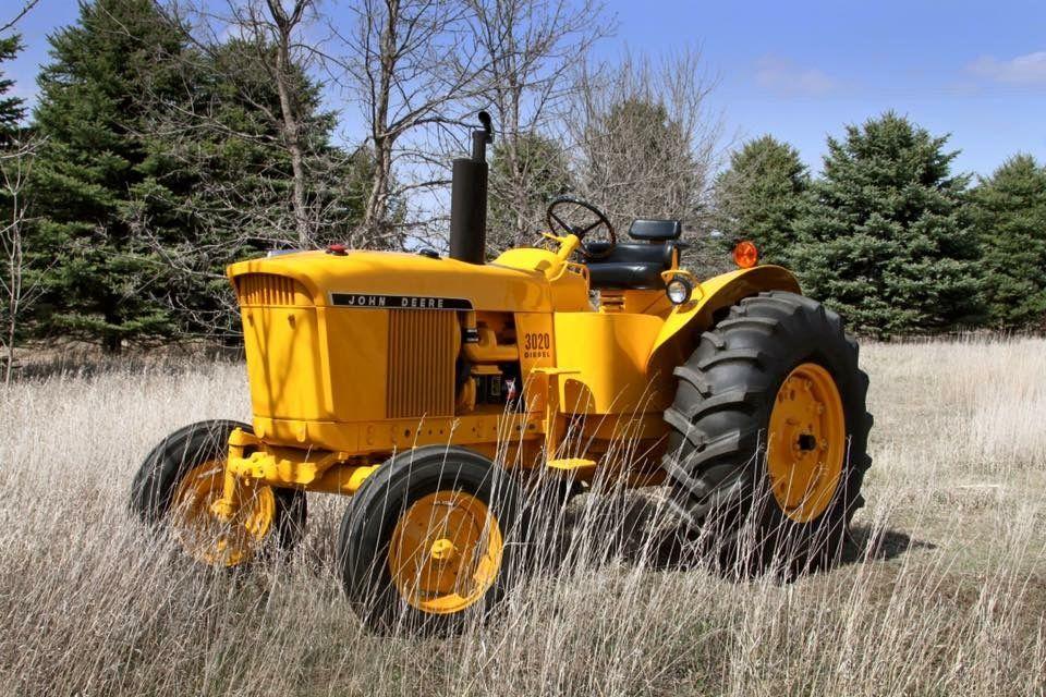 John Deere Yellow Tractor