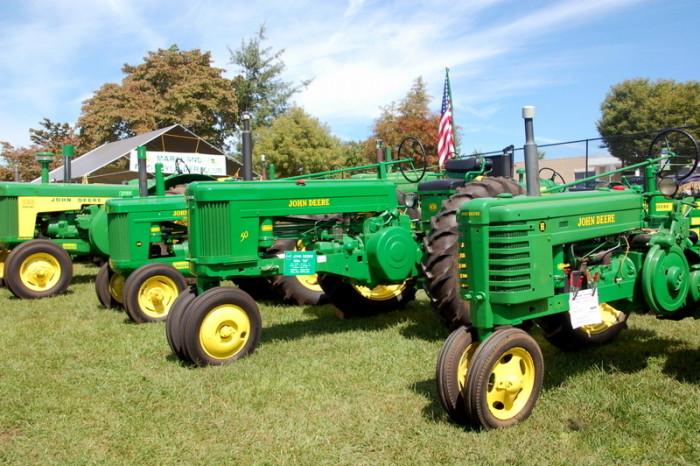John Deere Green Tractor