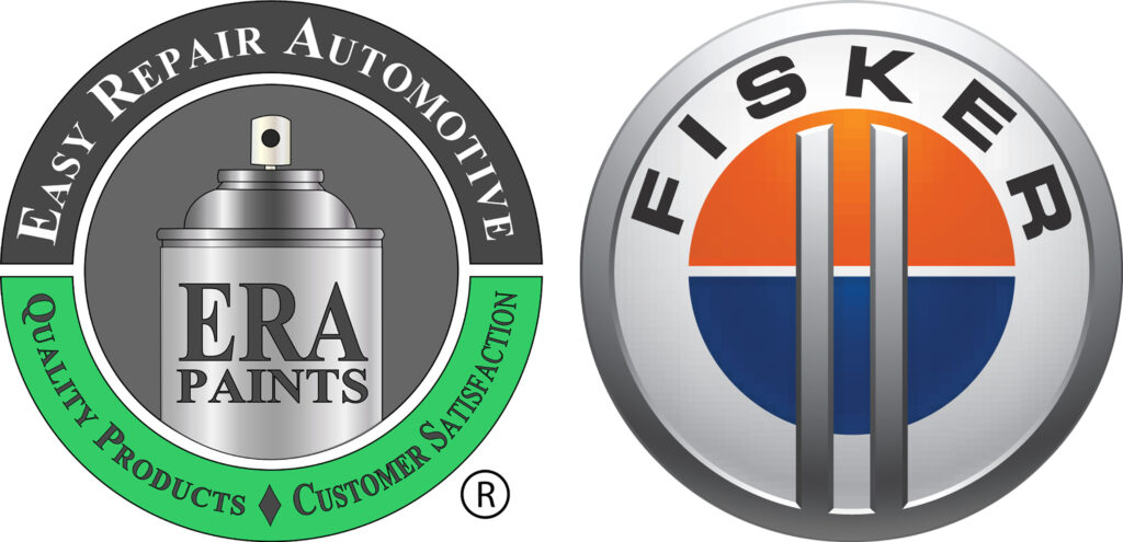ERA Paints and Fisker Logo