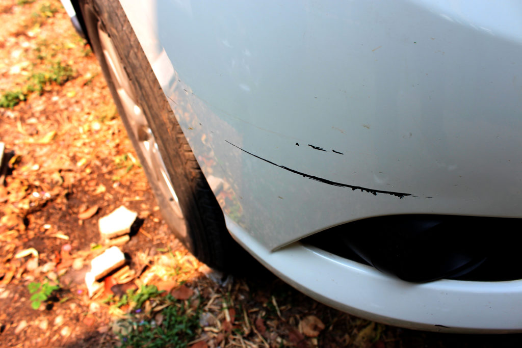 Ford Bumper Car Scratch