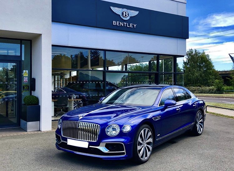 Bentley Car Blue