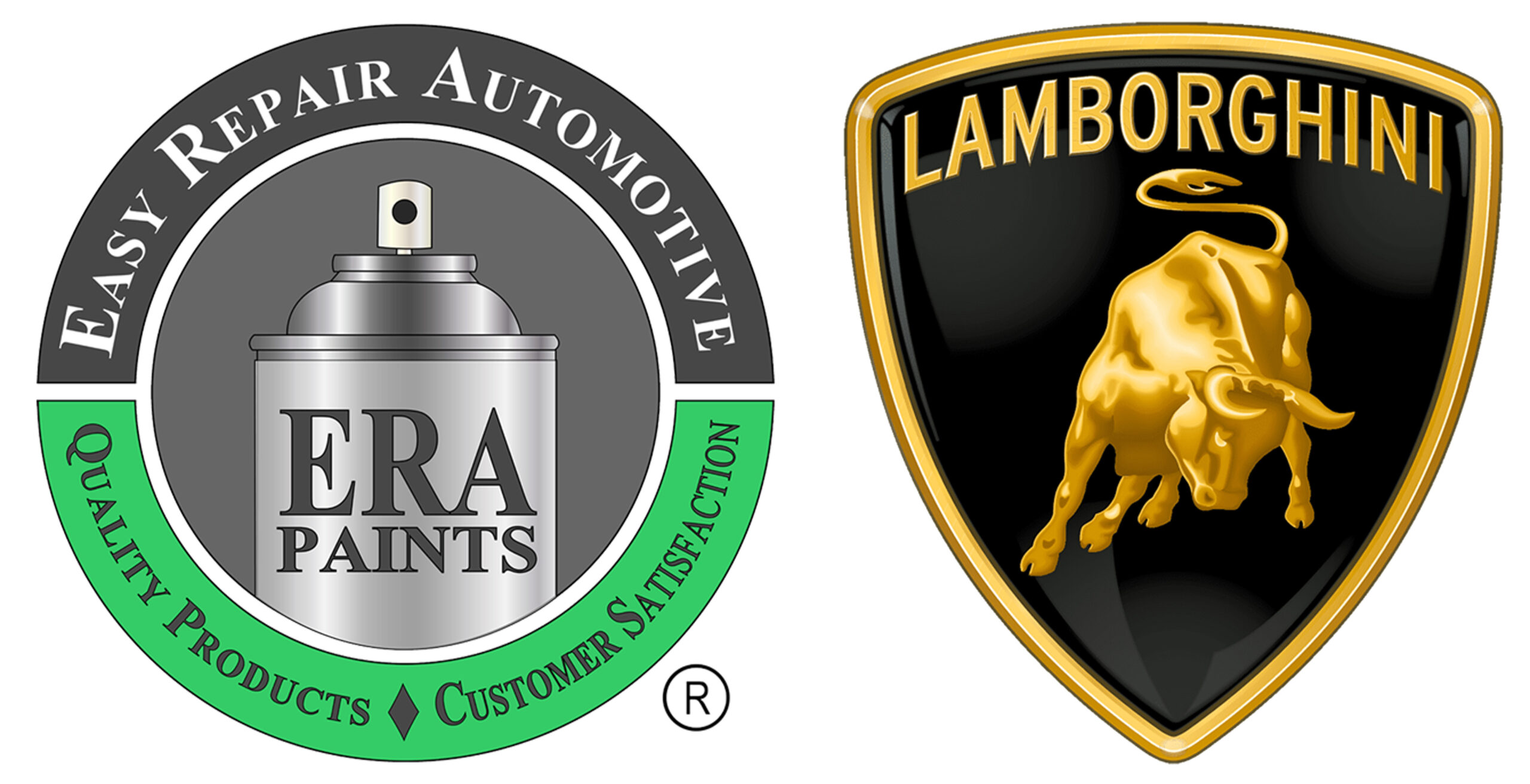 ERA Paints and Lamborghini Logo