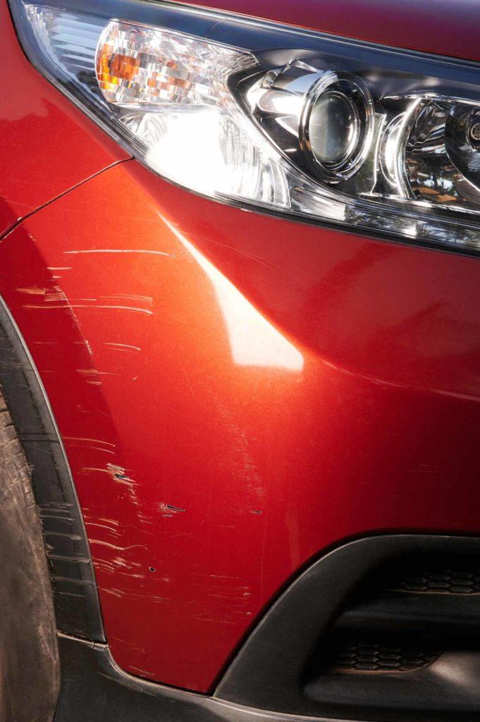Lexus Bumper Scrape Touch Up Paint