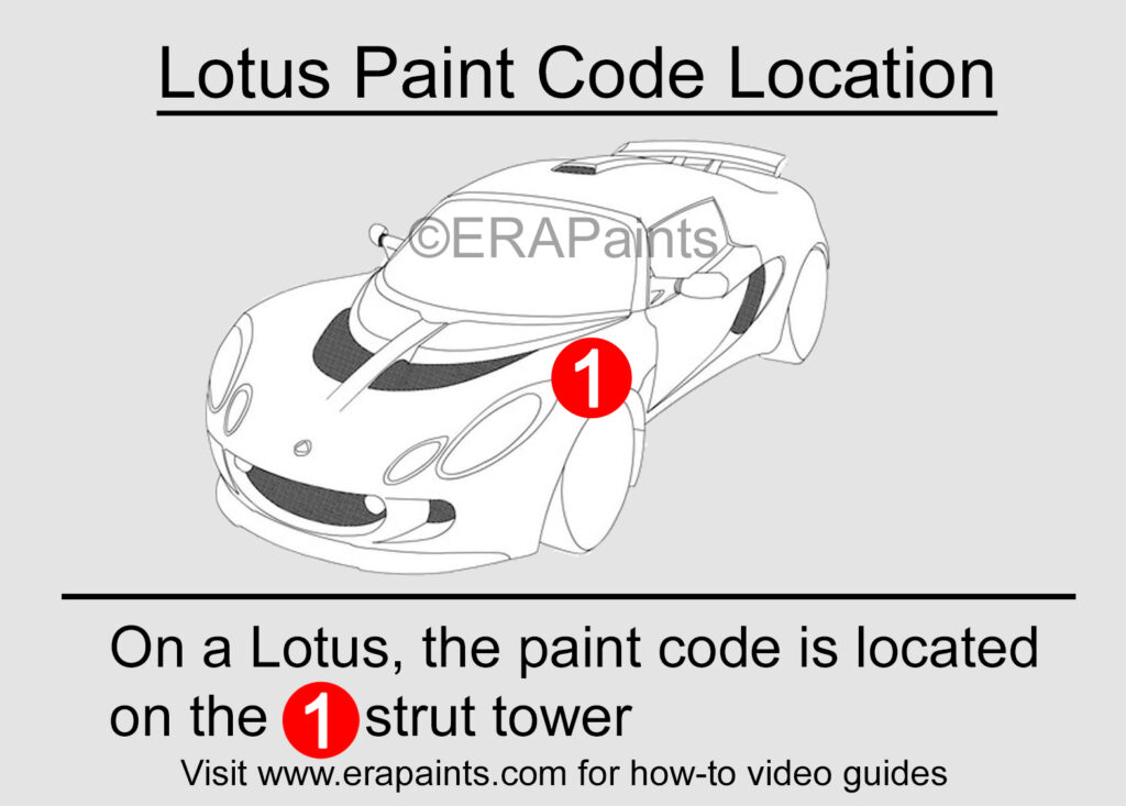 Lotus Paint Code Location