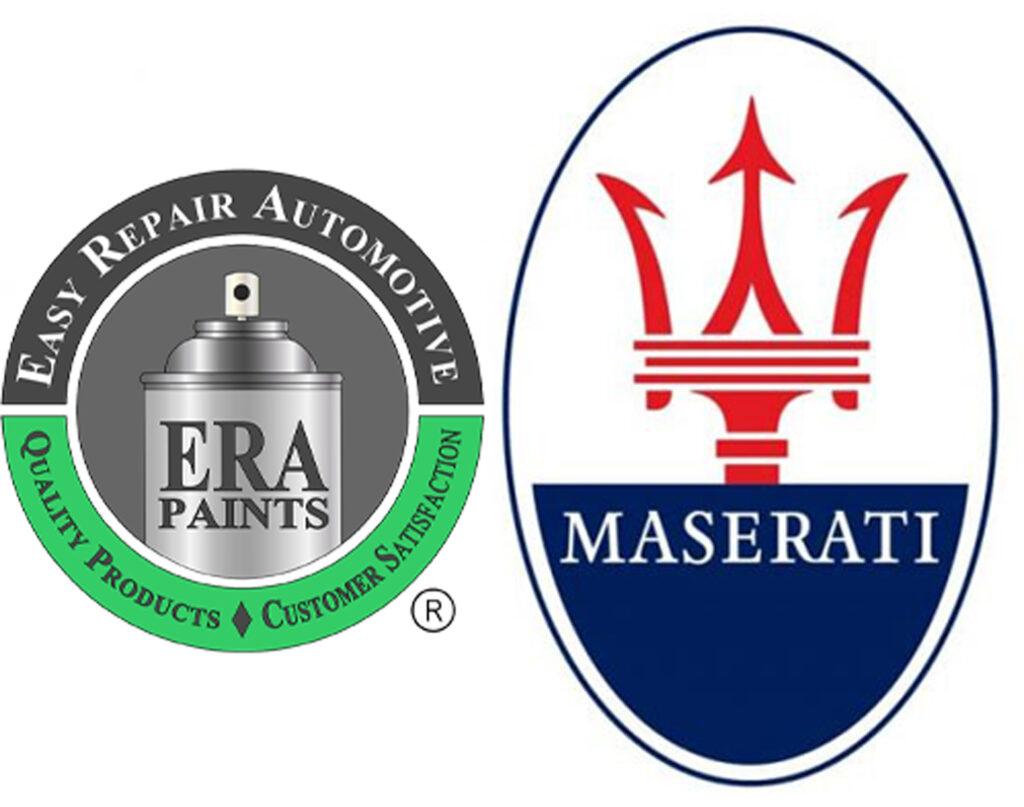 ERA Paints and Maserati Logo