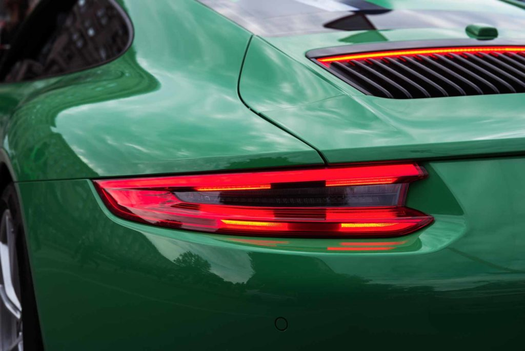 Porsche Bumper Green Paint