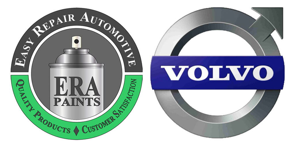 ERA Paints and Volvo Logo