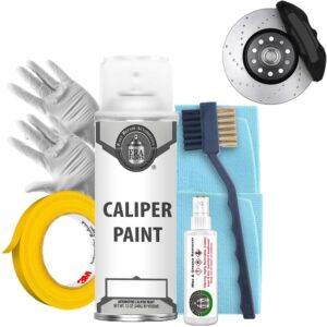 Black Caliper Paint with Prep Kit