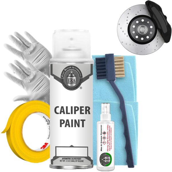 Black Caliper Paint with Prep Kit