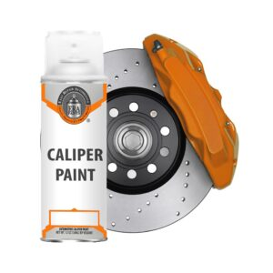 Orange Caliper Paint