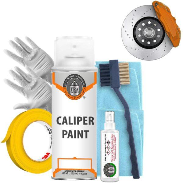 Orange Caliper Paint and Prep Kit