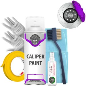 Purple Caliper Paint and Prep Kit