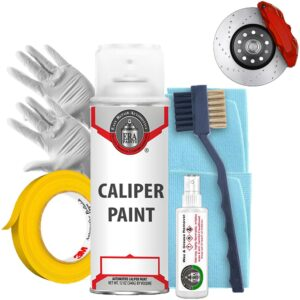 Red Caliper Paint with Prep Kit