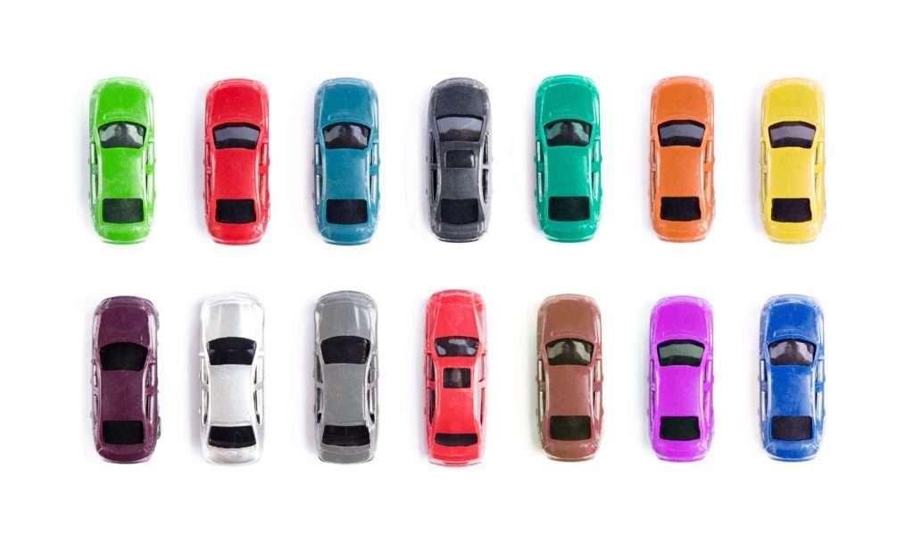 Toyota Car Colors