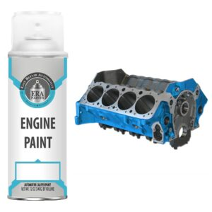 Blue Engine Paint