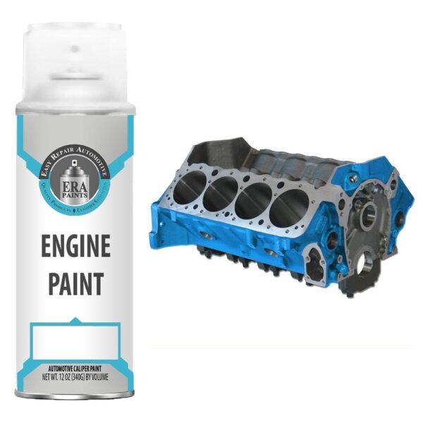 Blue Engine Paint