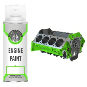 Green Engine Paint