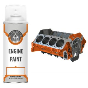 Orange Engine Paint