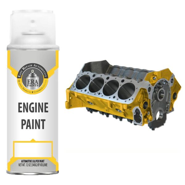 Yellow Engine Paint