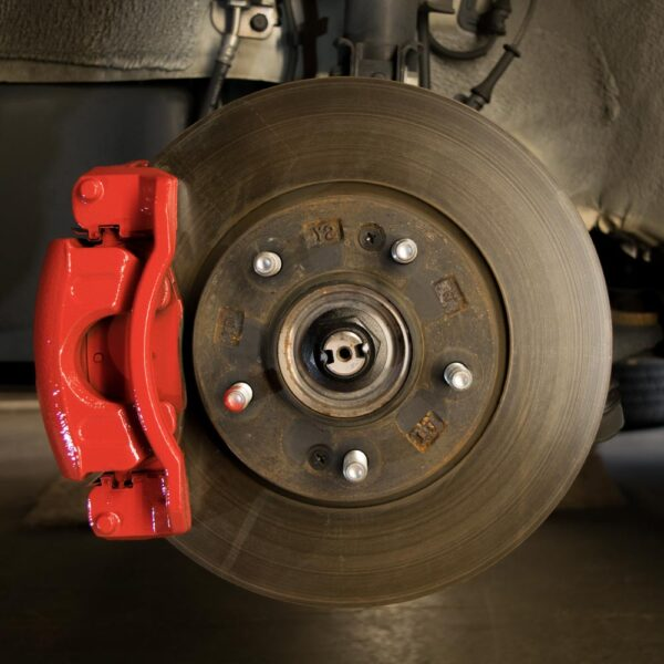 Brake Caliper in Red