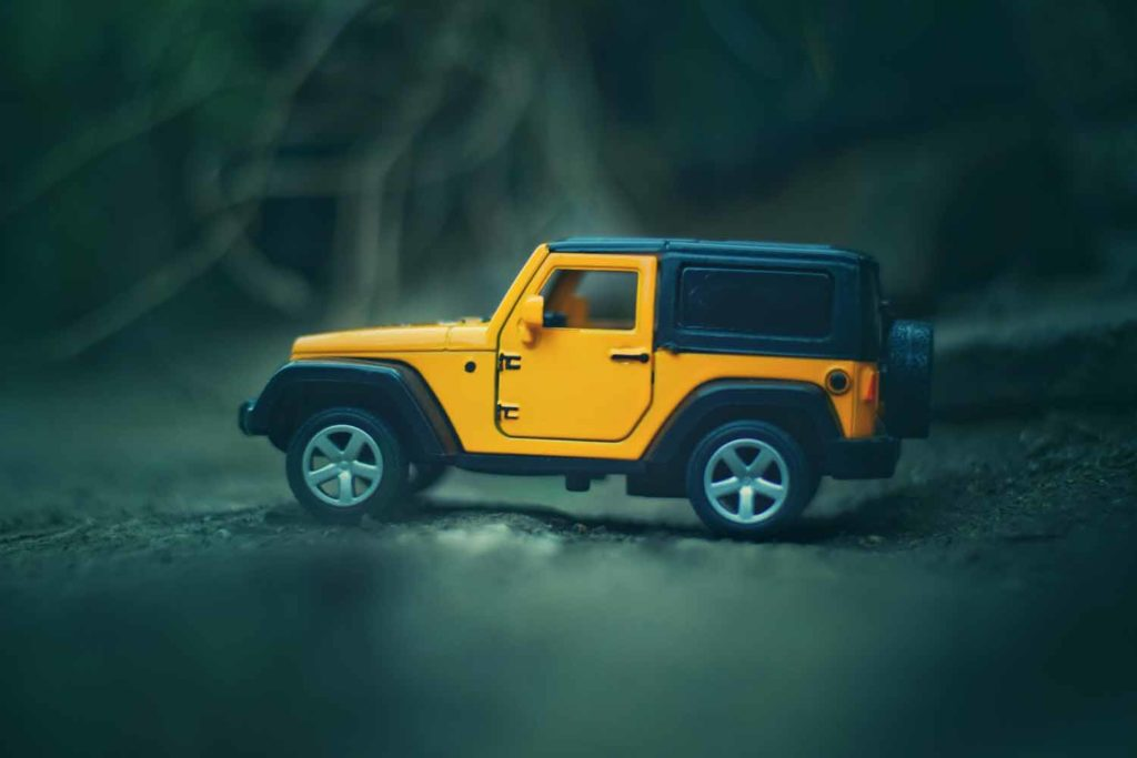 Jeep Yellow Toy