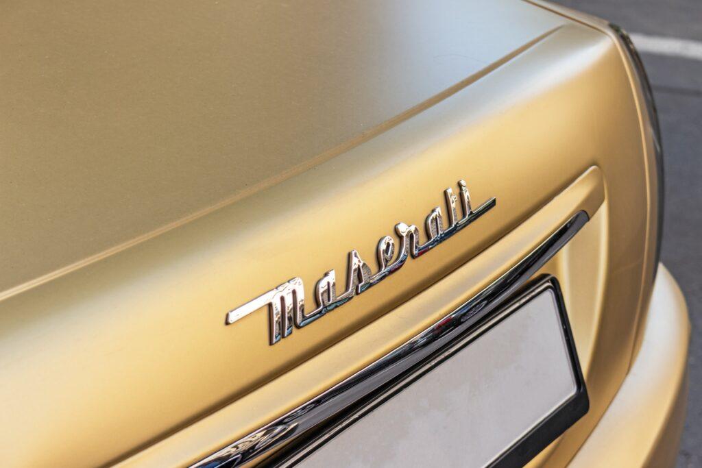 Maserati Touch Up Paint