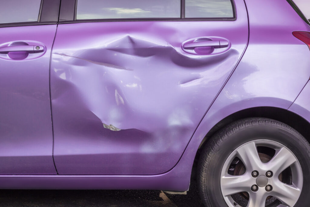 Scion Door Damage