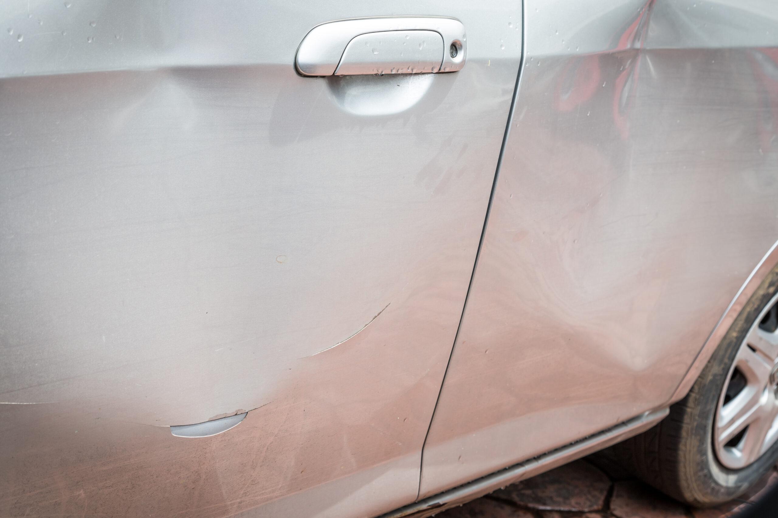 Smart Car Door Damage