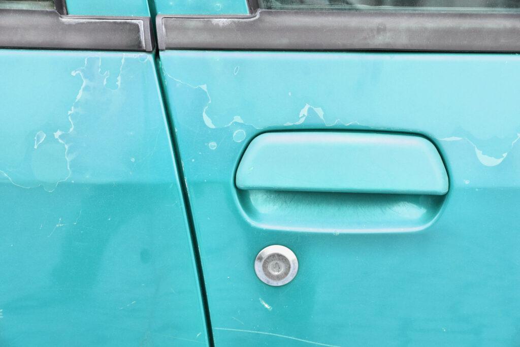 Smart Car Paint Damage