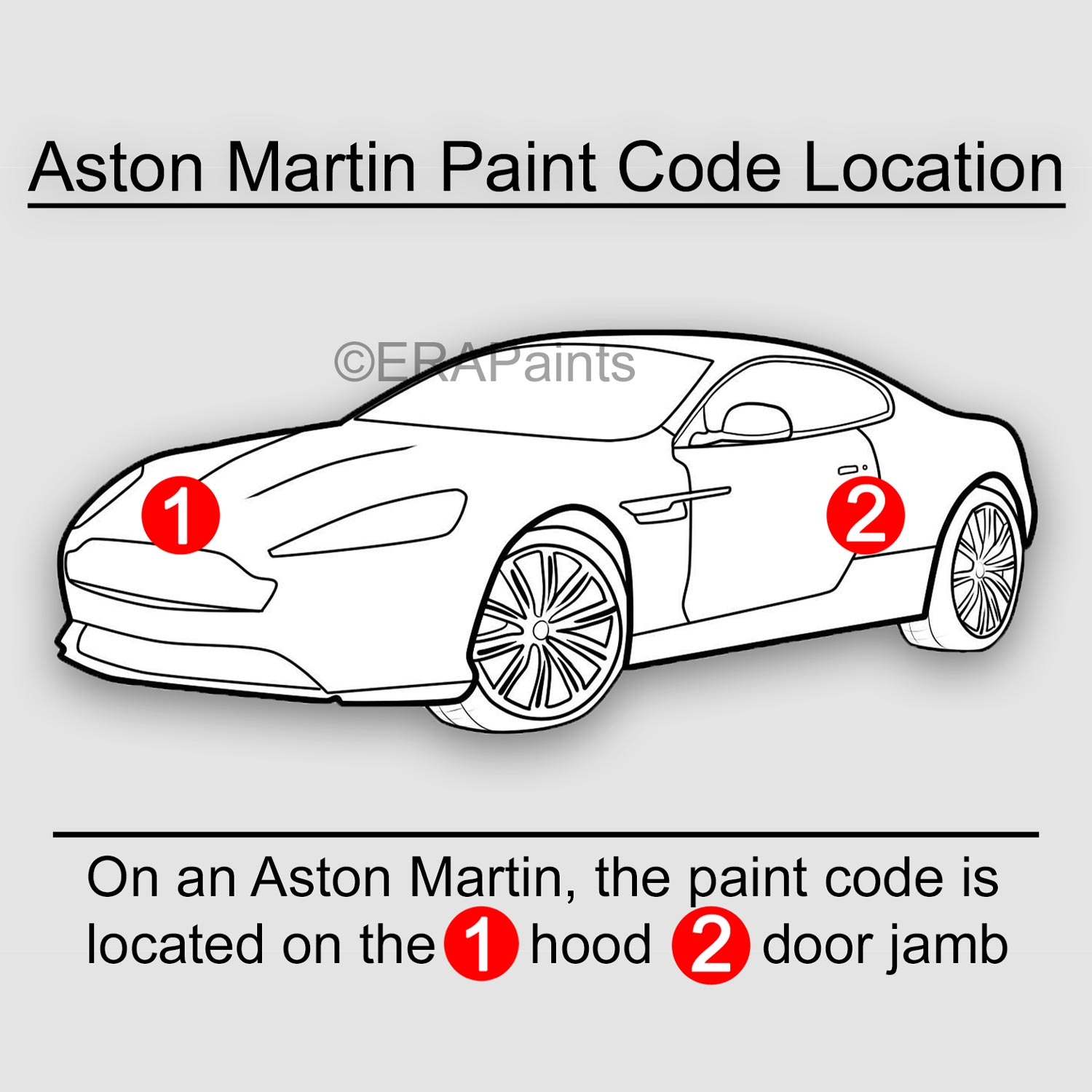 How To Find Your Aston Martin Paint Code Era Paints