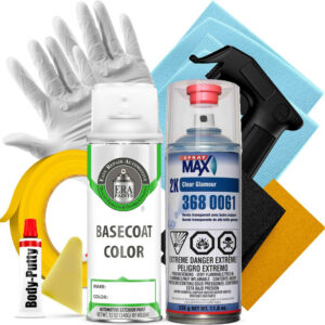 Automotive Spray Paint 2K SprayMax Clearcoat and Pro Prep Kit
