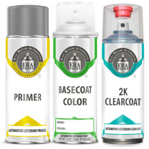 Automotive Spray Paint 2K Clearcoat & Primer