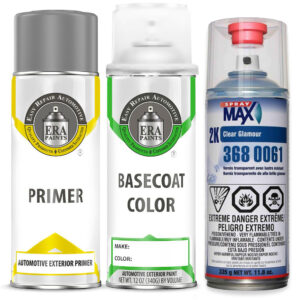 Automotive Spray Paint 2K SprayMax Clearcoat & Primer