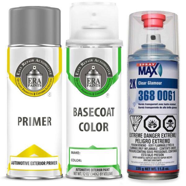 Automotive Spray Paint 2K SprayMax Clearcoat & Primer