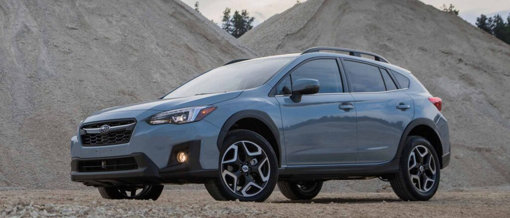 Gray Subaru Crosstrek