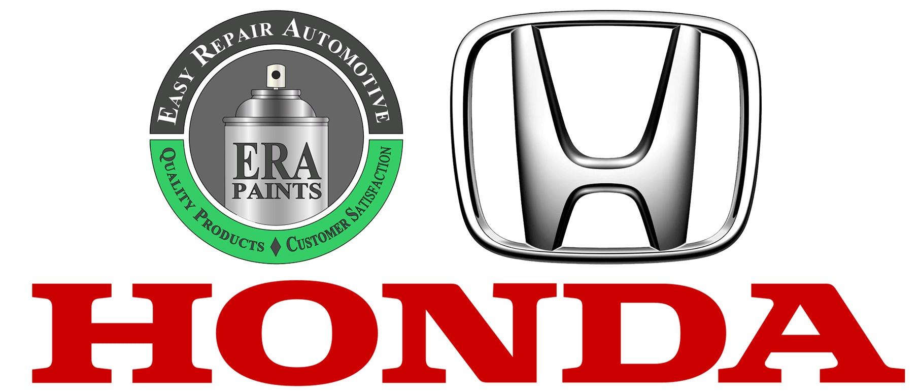 ERA Paints and Honda Logo