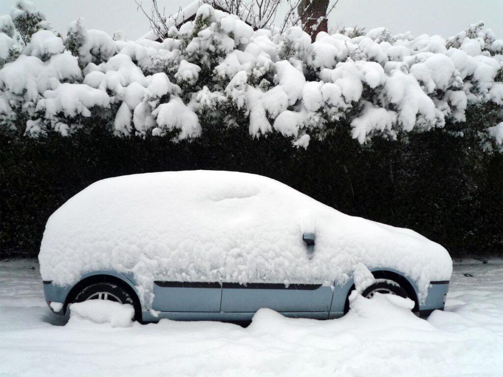 Isuzu Vehicle Snow