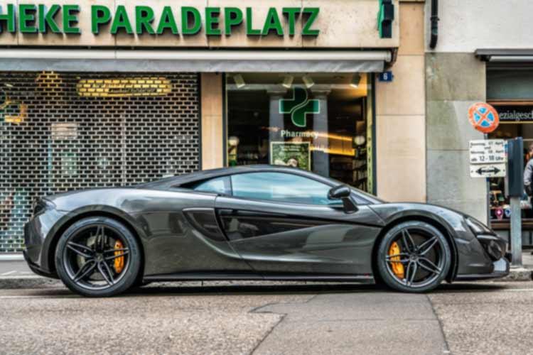 McLaren Caliper Paint