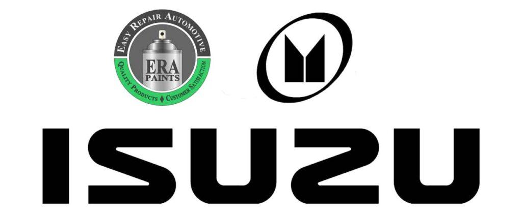 ERA Paints and Isuzu Logo