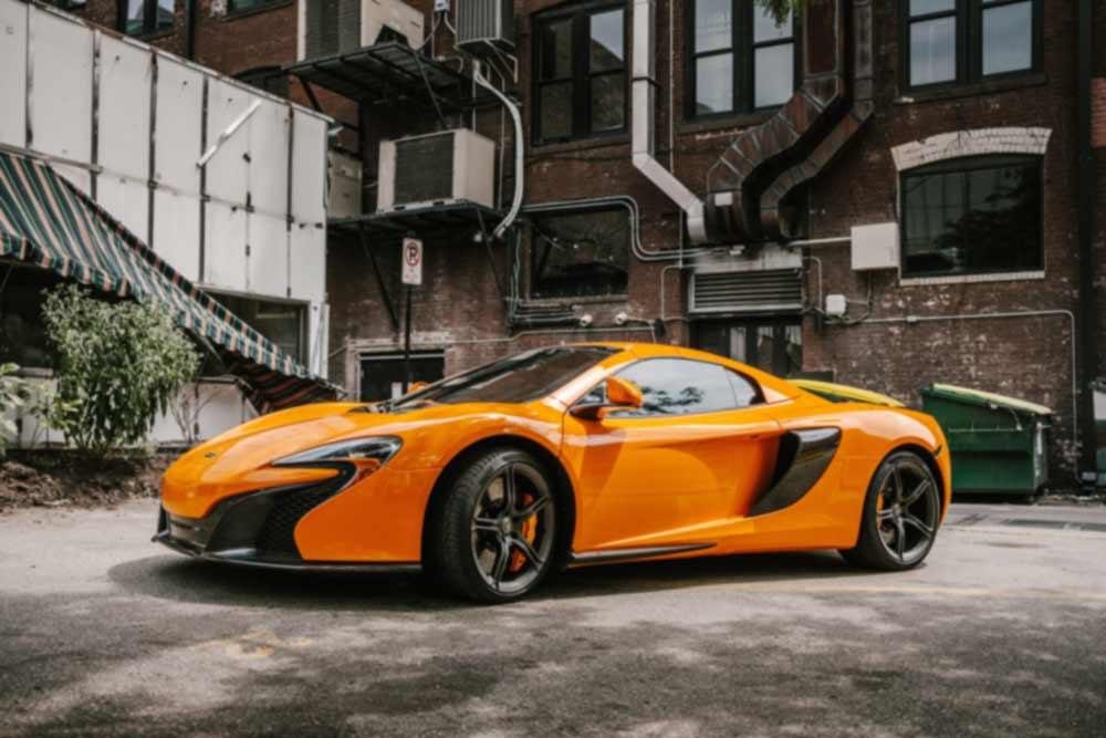 McLaren Touch Up Paint