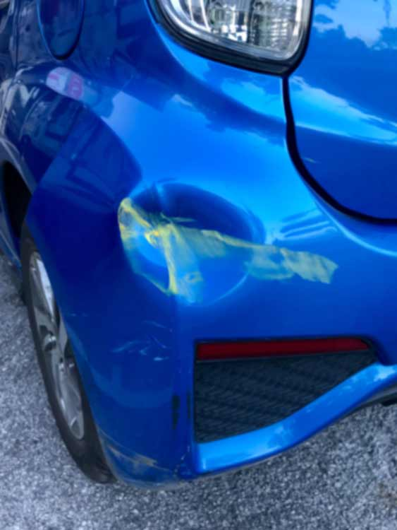 Mercury Bumper Repair