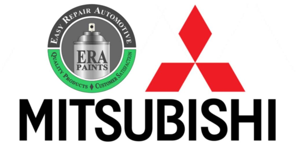 ERA Paints and Mitsubishi Logo