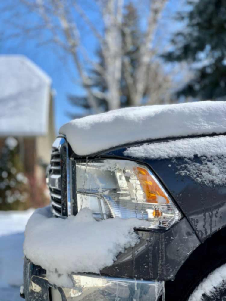 Dodge Ram Snow